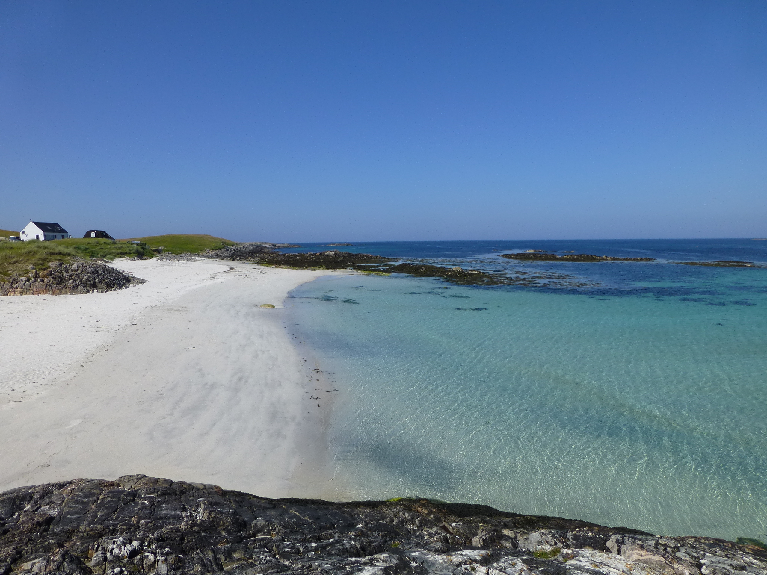 Caolas Beach on the Scottish island of Tiree