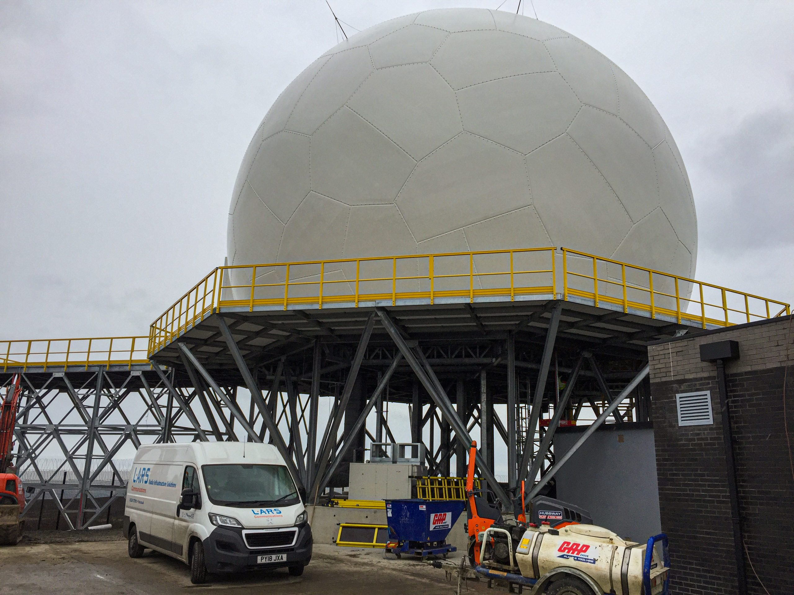 Design, Fabrication and Installation of a Radome Tower
