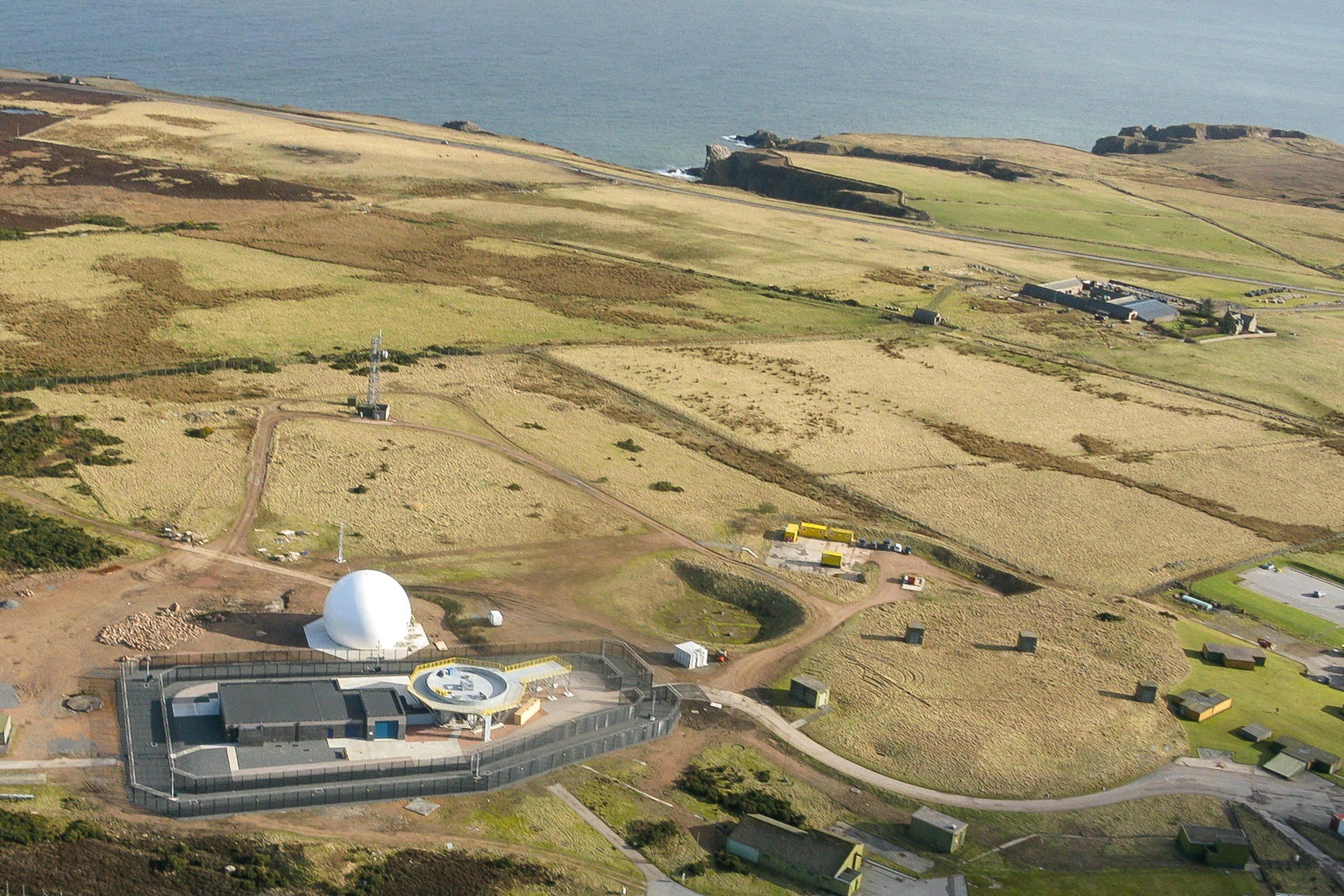 Installation of two radar towers - RRH Buchan and RRH Brizlee Wood