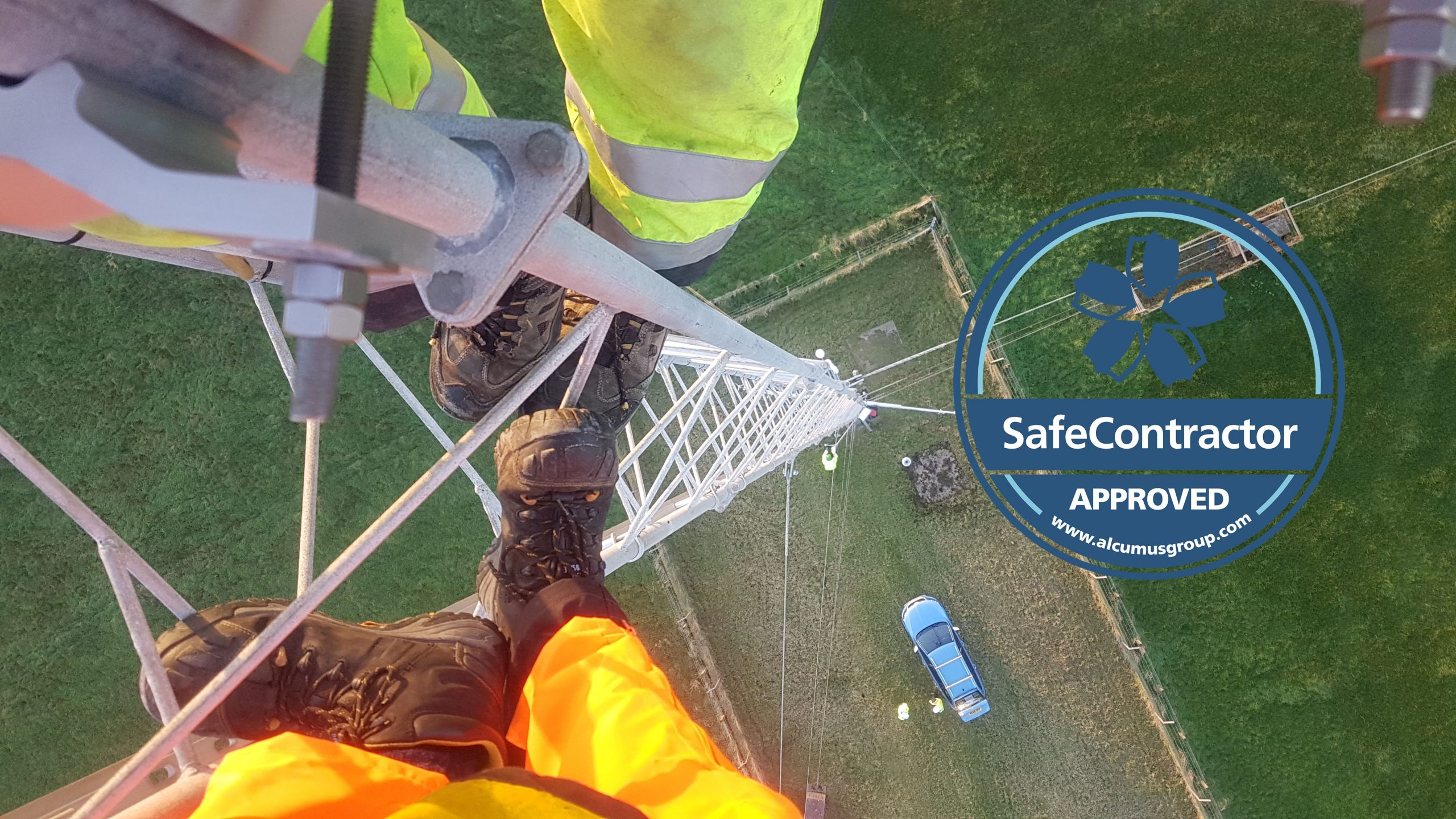 Top safety accreditation from Alcumus SafeContractor